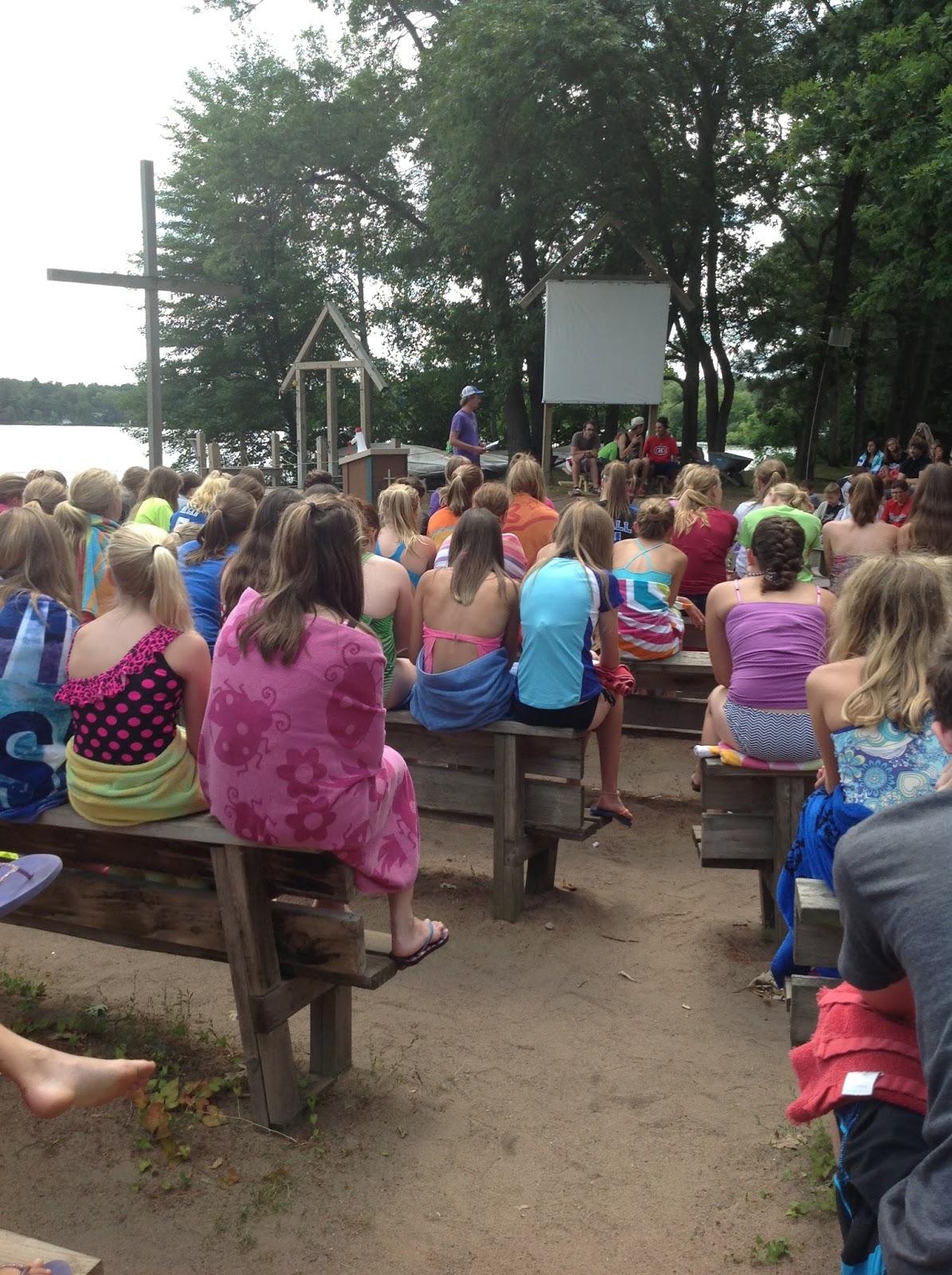 Wapo Bible Camp Youth Blog Swim Tests
