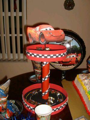 Fiestas Infantiles Decoraci N Cars Centros