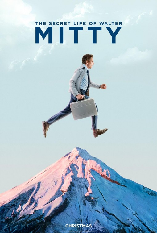Dois novos posters de the secret life of walter mitty