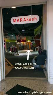 azza elite precious jannah butik busana mall