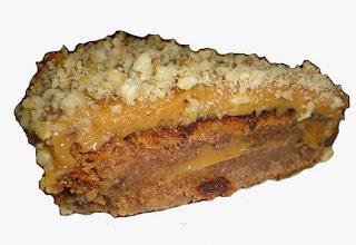 торт слоеный со сгущенкой