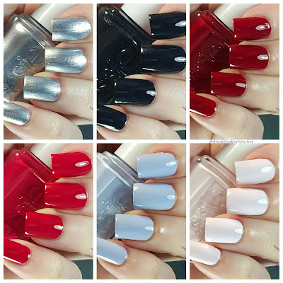 Essie Virgin Snow swatches