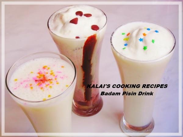 Badam Pisin Drink | பாதாம் பிசின் பானம் | Almond Gum Drink