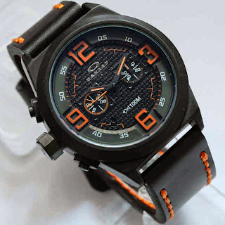 Oakley Chronograph Black Orange