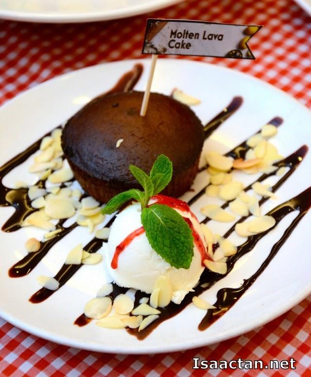 New dessert -Molten Lava Cake