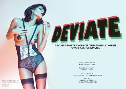 lingerie, kaltblut magazine, deviate