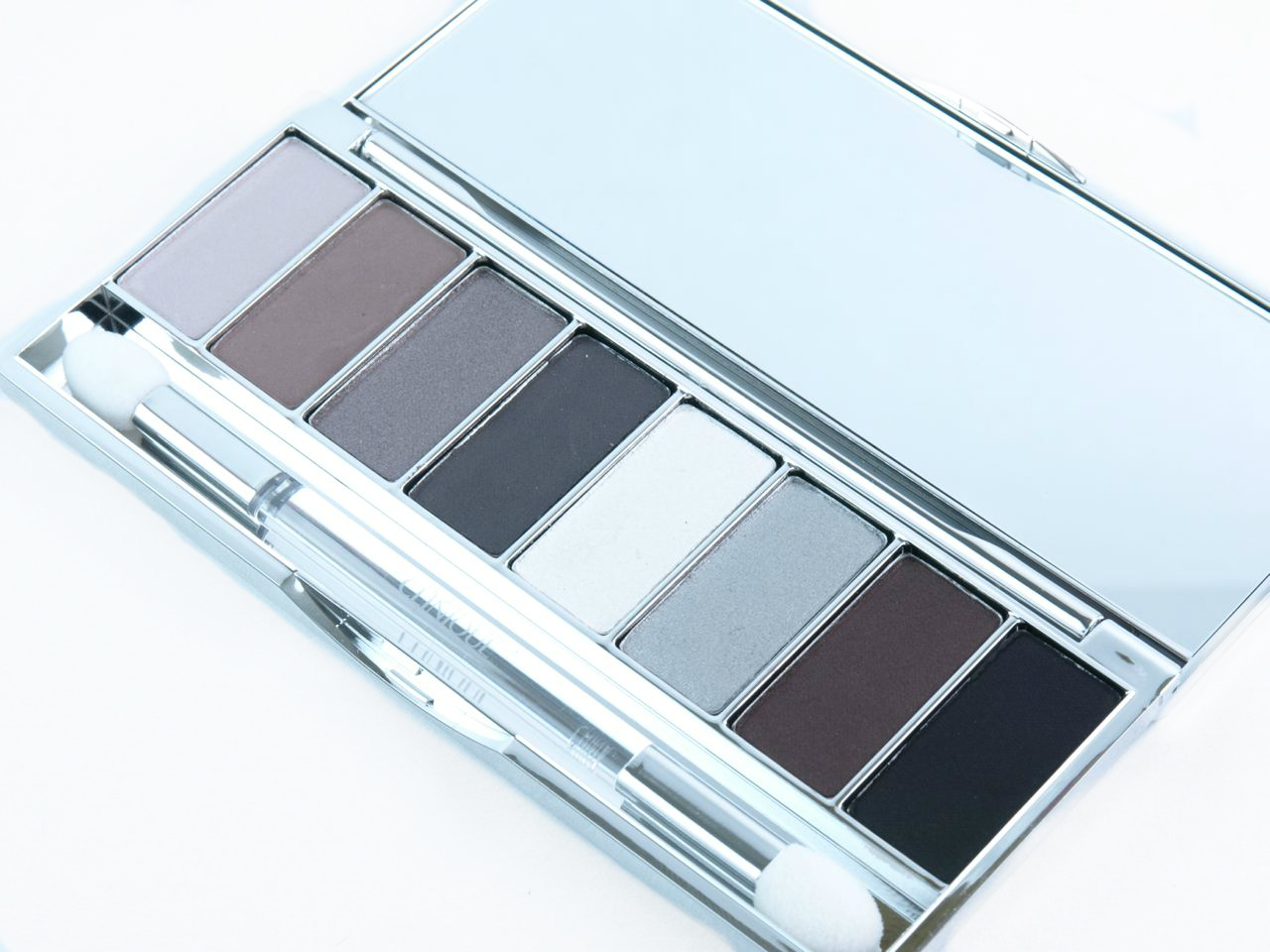 Clinique Wear Everywhere Greys All About Shadow 8-Pan Palette: Review and Swatches