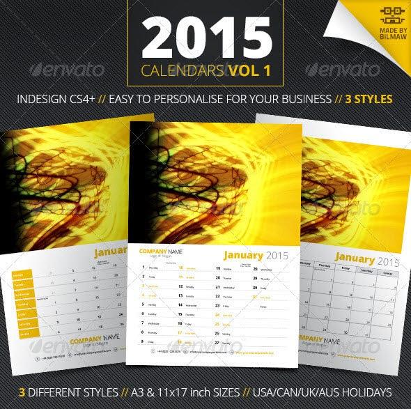 Calendars Vol 1