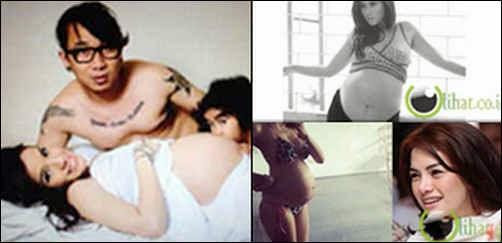 7 Artis Indonesia yang Berfoto Seksi dan Hot saat Hamil