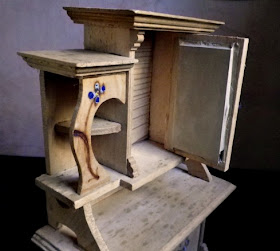 old furnishing for dollhouse
