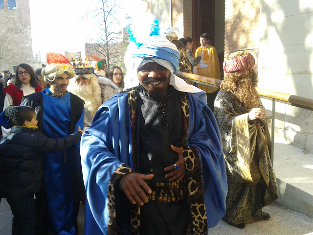 Visita Reyes Magos a Palacio Episcopal de Alcalá de Henares 2015