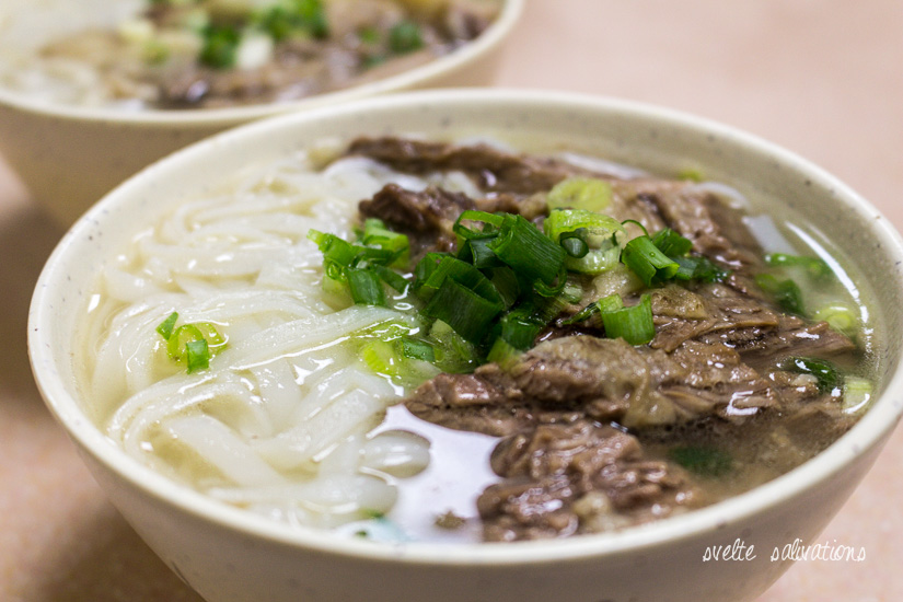 Ho Fun Beef Brisket Noodles at Kau Kee Restaurant | Svelte Salivations