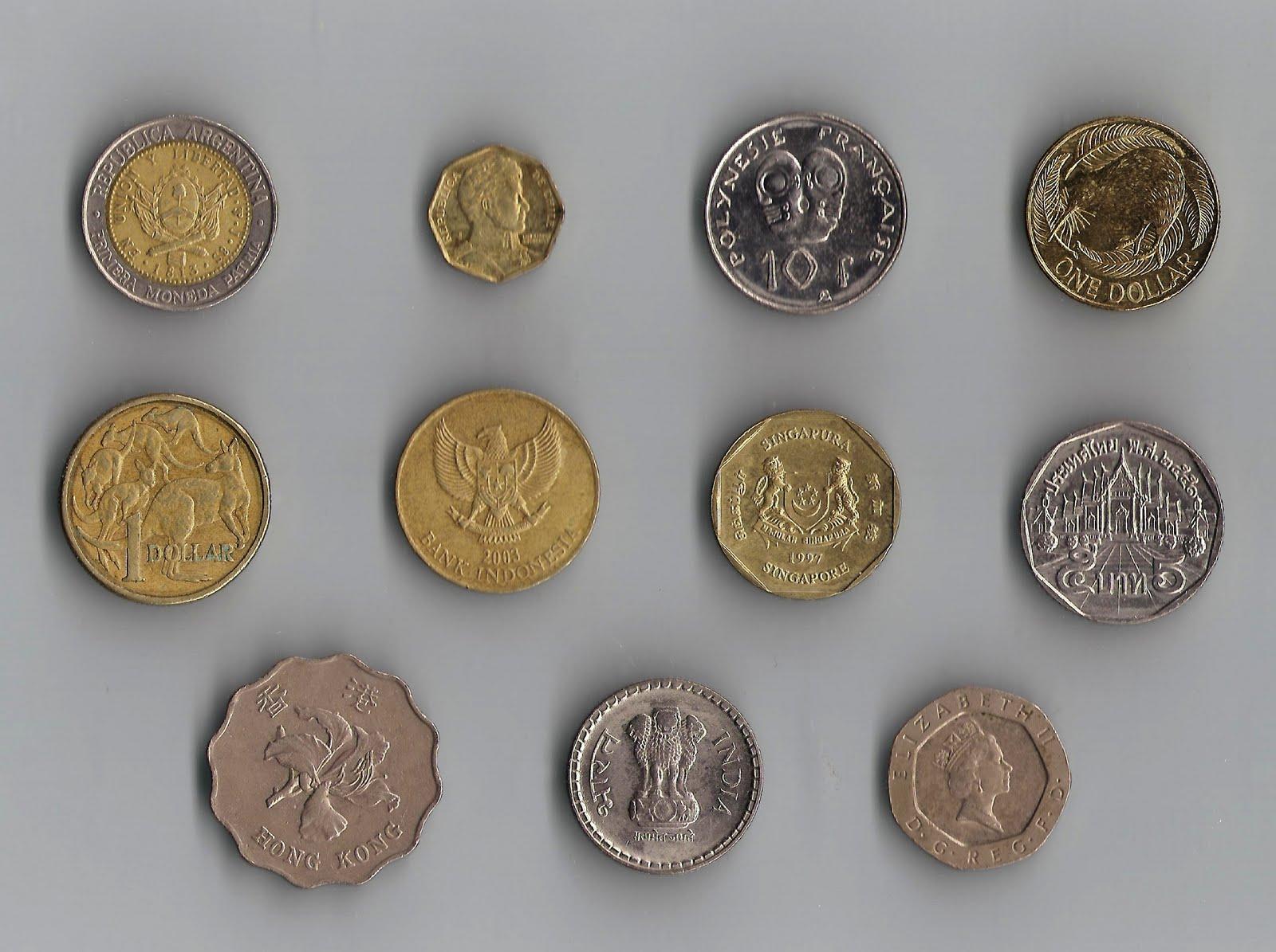 Tipos De Monedas En El Mundo Y Su Valor En Mexico