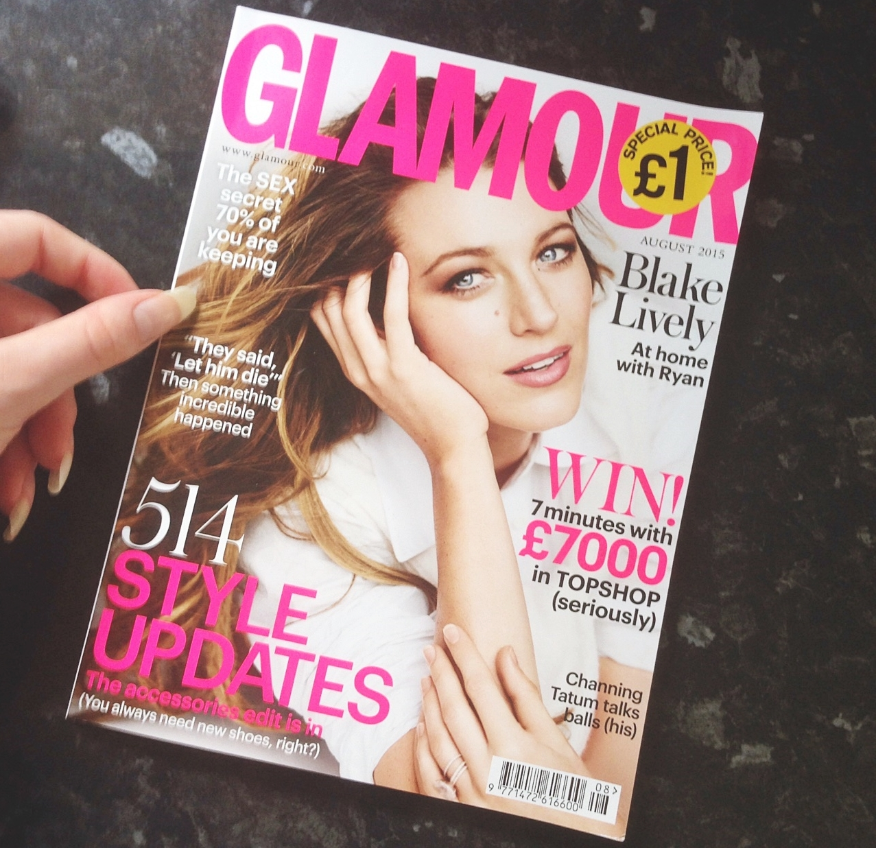 glamour magazine uk august 2015