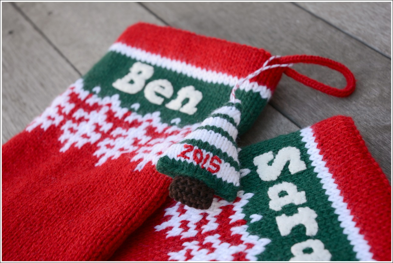 Christmas Stockings | Small Packages Knits