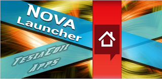 nova launcher for android device