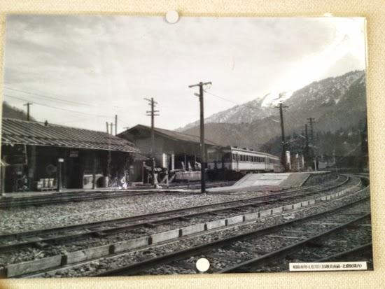 昔の北濃駅2