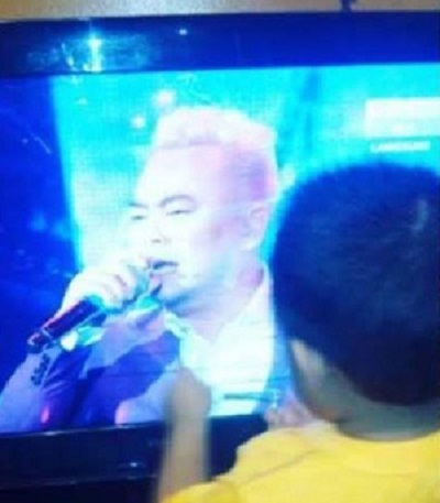 Irfan Usap TV Ketika Menonton 'Bapanya'