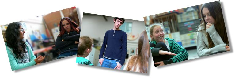Greg Bepper's Thunderbolt Theatre Teen Drama Students