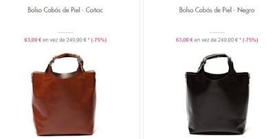 Bolsos cabás 63 euros