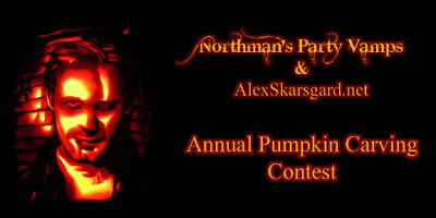 Northmans Party Vamps Pumpkin Contest