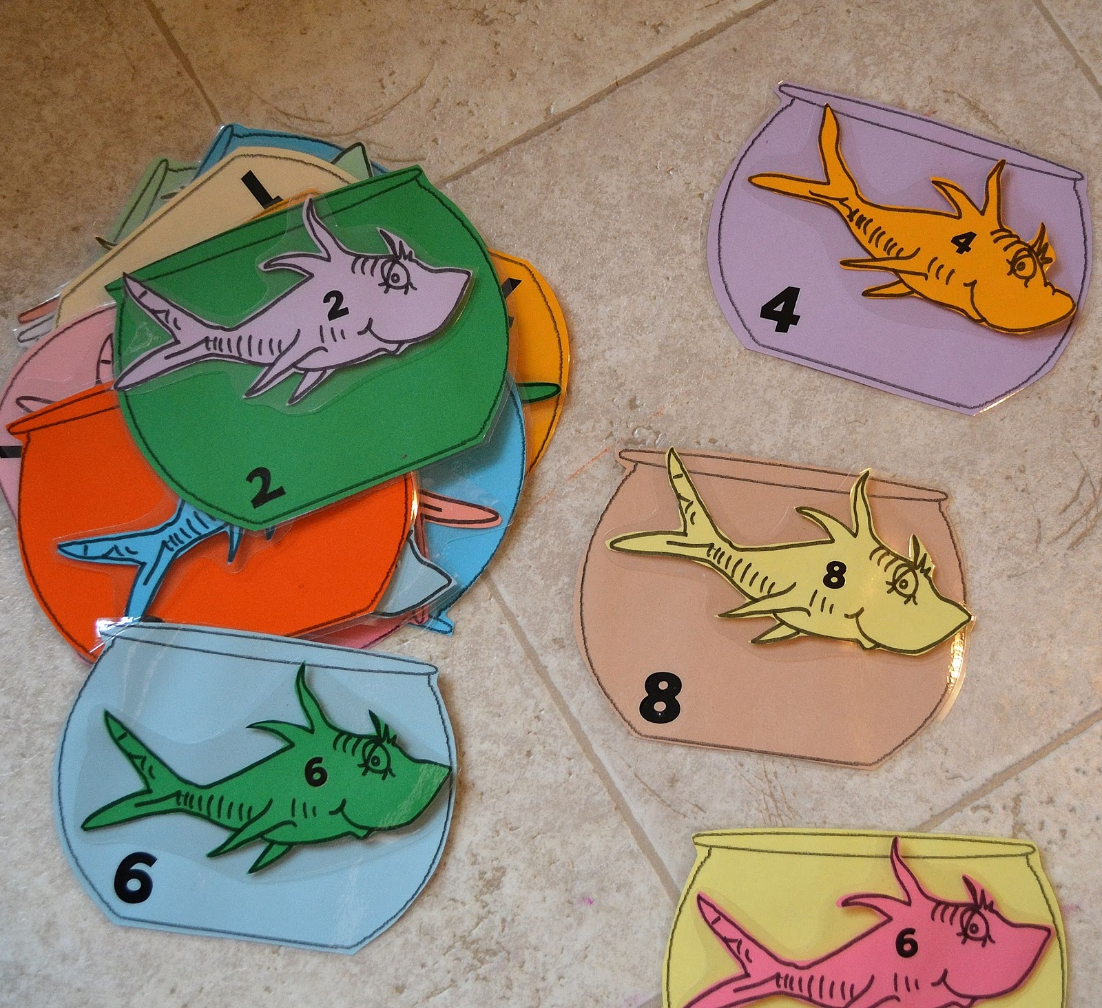 Activities Crafts Games: From The Hive: F Fish Day- Preschool Style