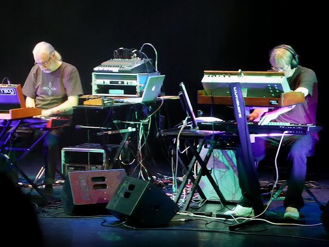 ARC (Ian Boddy et Mark Shreeve) @ E-Live 2013 / photo S. Mazars