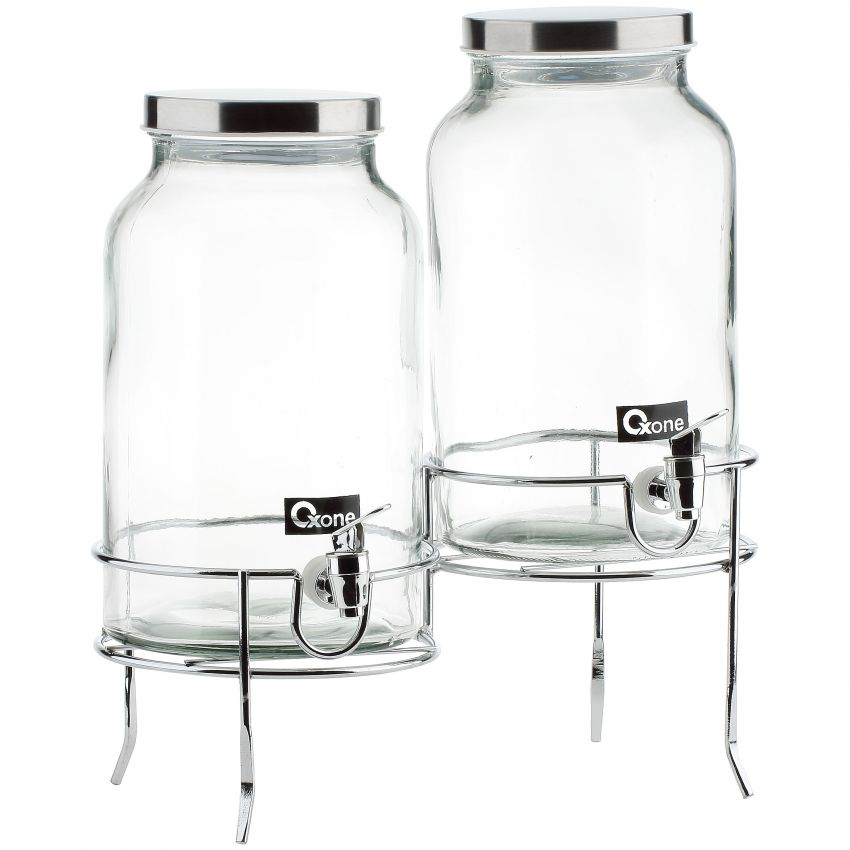 OX-335 Double Decanter with Rack Oxone (2x5lt)