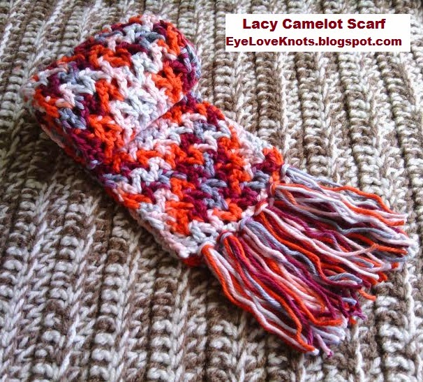 Eyeloveknots lacy camelot child scarf valentine inspired free lacy camelot child scarf valentine inspired free crochet pattern dt1010fo