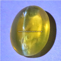 Batu Permata Opal Cat Eye