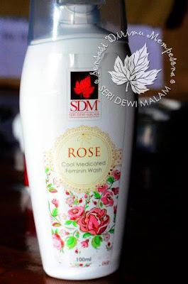 SDM ROSE MEDICATED FEMININE WASH – RM48 (100ML) – FW ROS ...
