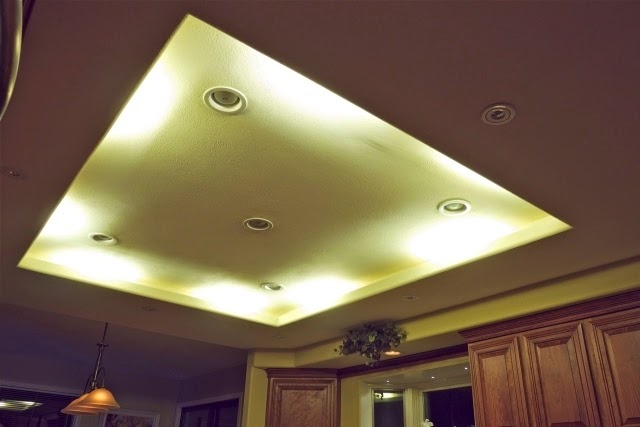 Stunning false ceiling led lights and wall lighting for living room 2015 - Lights used in false ceiling ...