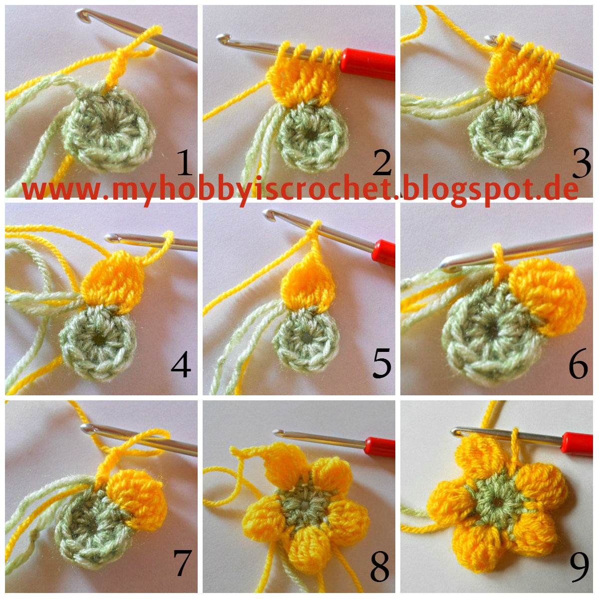 My Hobby Is Crochet: Crochet Dahlia Flower - Free Pattern ...