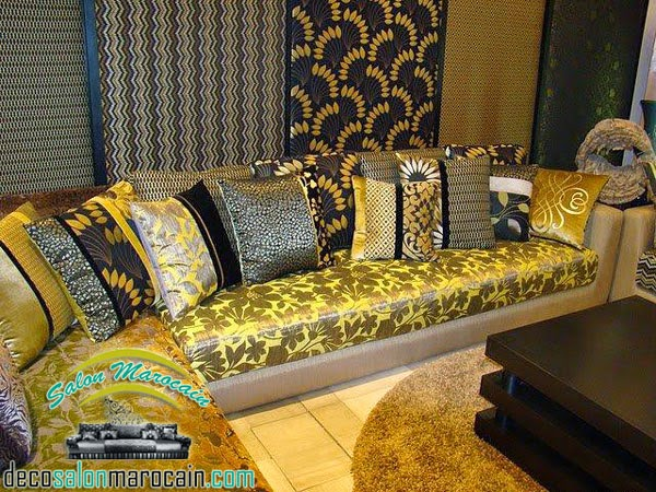salon marocain moderne indescriptible - Salon Marocain Salon Moderne