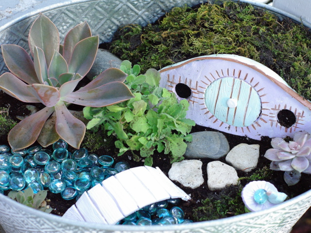 Five for Friday Leigh Penner #fairygardens