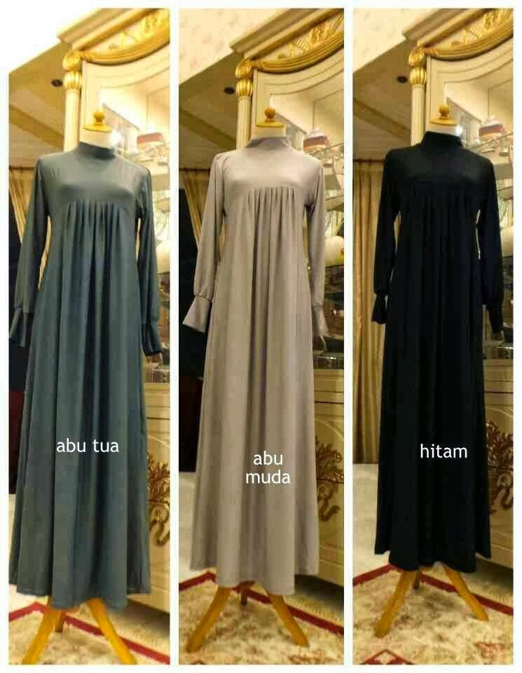 Gamis Jersey Rempel Blossom Dress