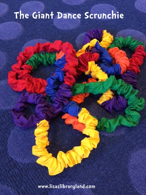 how to make a giant scrunchie