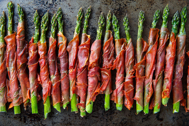prosciutto wrapped asparagus steamy kitchen recipes crispy prosciutto ...