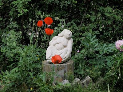 Anderl Kammermeier garden Berlin sculpture
