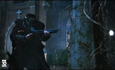Headless Horseman rifle shotgun slide Sleepy Hollow screencaps