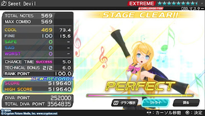 project DIVA-f Sweet Devil(Perfect)@大人リン