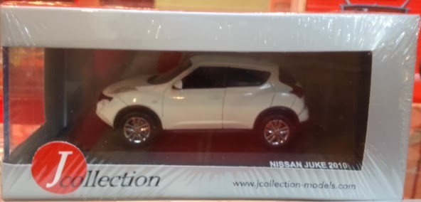 J Collection Nissan Juke White (1:43)