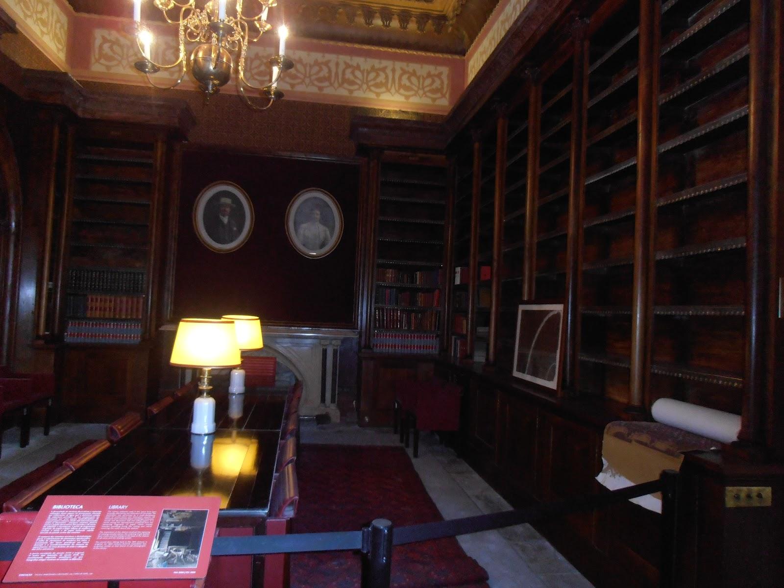 Viajar e estudar em portugal sintra primeira vez for Sala de estar palacio