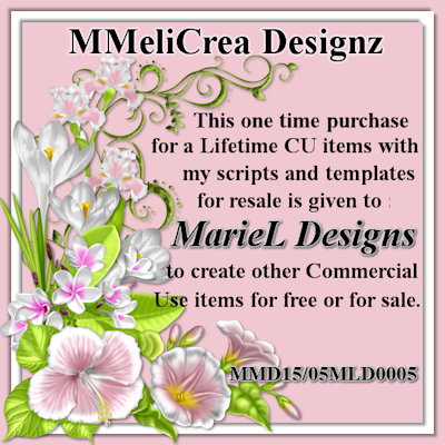 MMeliCrea Designz License