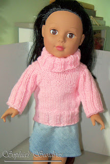 Knitting Pattern For Upside Down Doll : 18