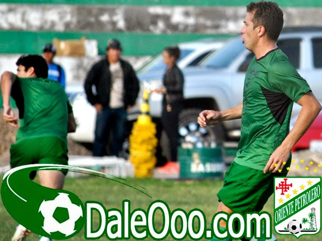 Oriente Petrolero - Ronald Raldes - Mariano Brau - DaleOoo.com web del Club Oriente Petrolero