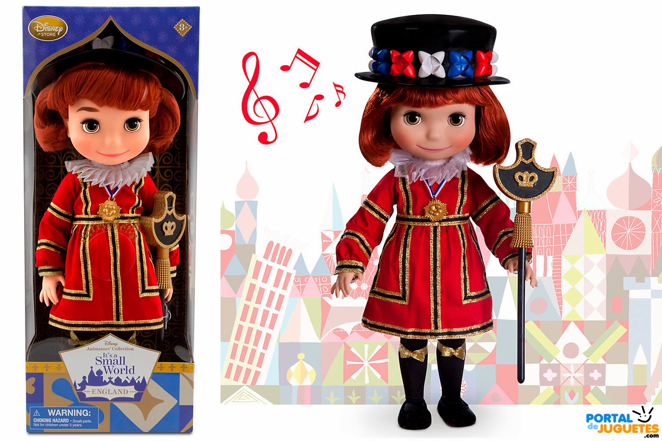 muñeca inglaterra its a small world disney animators