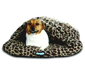 Snuggie for Dogs Nesting Nook Leopardo (cama de dormir tipo igluu para perros)....