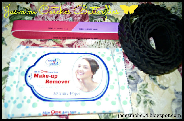 Cool &amp; Cool Make-up Remover, Nail Filer, Belt