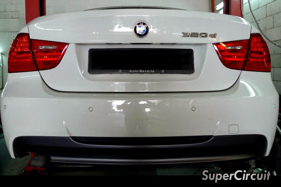 Supercircuit Exhaust Pro Shop Bmw 320d E90 Diesel Turbo Downpipe Dpf Removal